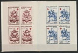 CARNET CROIX ROUGE De 1960 Neufs ** (MNH) Cote 57 € . TB Vendu à 12 % De La Cote - Croce Rossa