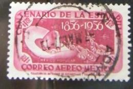 MZ111 -  MESSICO 1956 1.20$ - LOTTO 1 VALORE USATO  - 100 ANNI STAMPA MESSICANA - Mexico
