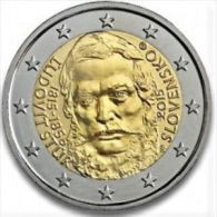 2 Euro Commemorativo Slovacchia 2015- Stur  FDC- DA ROTOLO - Slovakia
