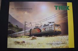 Catalogue Principal 2010/2011 Trains Miniatures TRIX Echelle N Et HO - French