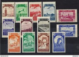 MARRUECOS ** / * 186/91-193/99 Nuevo. Cat. 11,40 € - Spanish Morocco