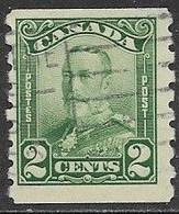 Canada   1929  Sc#161  2c Coil  Used  2016 Scott Value $3.50 - Gebruikt