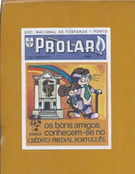 Etiqueta De Caixa Fósforos.Publicidade Crédito Predial Português. Matchbox Label. Advertising Portuguese Property Credit - Tobacco