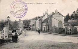 BLAINVILLE CREVON-76-RUE DE LA POSTE-CACHET-PRISONNIERS DE GUERRE - Other Municipalities