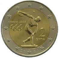 """2 Euro Commemorativo Grecia- 2004 - """"Giochi Olimpici Atene 2004"""" - Greece"""