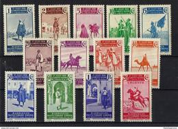 MARRUECOS * / ** 169/180-185 Nuevo Sin Charnela. - Spanish Morocco