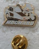 Pin's - Motos - Side HECHARD - - Motorfietsen