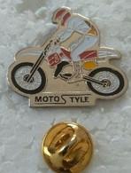 Pin's - Motos - MOTOSTYLE  - - Motorfietsen