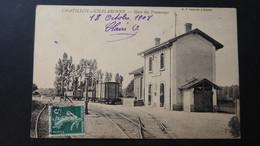CHATILLON SUR CHALARONNE - Gare Des Tramways - Châtillon-sur-Chalaronne