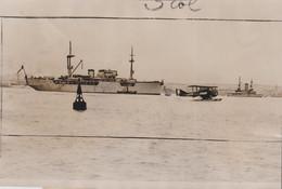 """PH. N.Y.T. - TRAVAUX De SAUVETAGE Du """"PROMETHEE""""  7 JUILLET 32  (13.2 X 19.8 Cm.) - Schiffe"""