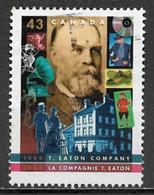 Canada 1994. Scott #1510 (U) T. Eaton Company, 125th Anniv. ** Complete Issue - Gebruikt
