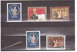 1995 8° CENTENARIO DO NASCIMENTO DE SANTO ANTONIO EMISSIONE CONGIUNTA ITALIA PORTOGALLO - Unused Stamps