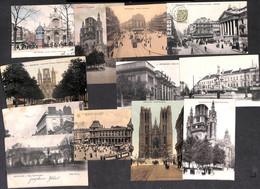 Bruxelles - Splendide LOT Plus De 250 Cartes (animée Tram Colorisée Précurseur Quelques Scans.. à Découvrir, Petit Prix) - Unclassified