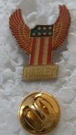 Pin's - Motos - HARLEY - - Motorfietsen