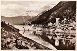 Cartolina - Pian Palù ( Val Di Pejo - Trentino ) - Cantieri Soc. Edison - 1960 - Trento