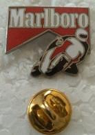 Pin's - Motos - MARLBORO - - Motorfietsen