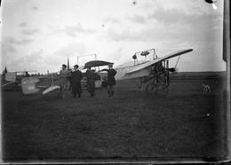Lot De 6 Plaques De Verre Négatives Blériot XI Alouette 2 Guillaume Busson Et Autoplan D' Alfred Pischof Circa 1910  GF - Aviation