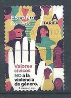 ESPAÑA 2020 -  Valores Cívicos - NO A La Violencia De Género - 2011-... Used