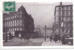 CPA - Lyon - Place Des Cordeliers - Unclassified