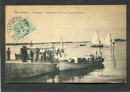 CPA - LORIENT - Les Régates - Passage Des Yachts à La Cale De Kernével, Très Animé - Lorient