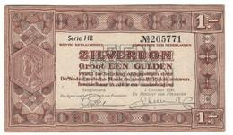 NETHERLANDS1GULDEN01/10/1938P61XF/AUNC.CV. - 1 Gulden