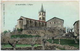 07 LABLACHERE - L'église - Other Municipalities