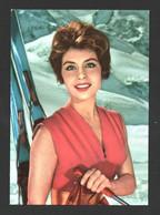 Sonja Ziemann - Carte Postale Collection KORES - Artisti