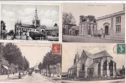 LOT/////064..........18 CPA DEP08 - 5 - 99 Postcards