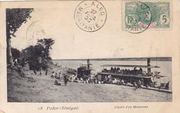 Sénégal - Podor - Départ D'un Monoroue - Senegal