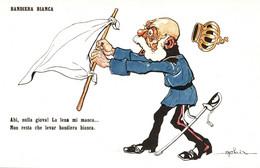6 CPA - SÉRIE COMPLÈTE, FULL SET - WW1 WWI Propaganda Propagande - KAISER - GOLIA - Humour Satirique - SV012 - Guerra 1914-18