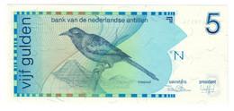 NETHERLANDS ANTILLES5GULDEN31/03/1986P22UNC.CV. - Netherlands Antilles (...-1986)