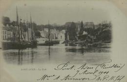 29 - PONT-AVEN - Le Port - Pont Aven