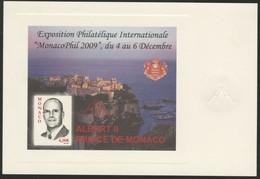 MONACOPHIL 2009 Exposition Philatélique. Epreuve De Luxe Du Bloc Feuillet N° 94 - Unused Stamps