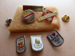 MOOI LOTJE PINS EN SPELDJES  BARCALONA  '92 - Olympische Spelen