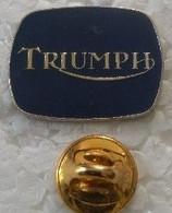 Pin's - Motos - Logo TRIUMPH - - Motorfietsen