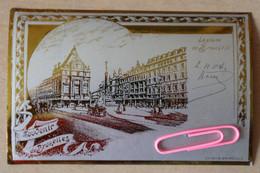 BRUXELLES : La Place De BROUCK7RE En 1904, Très Très Belle Carte - Brüssel (Stadt)