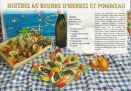 HUITRES AU BEURRE D'HERBES ET POMMEAU - Recettes (cuisine)