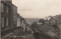 GB Postcard Cornwall Port Isaac Church Hill - Unclassified