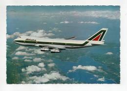 Cartolina Tematica Trasporti - Alitalia - B 747 (Jumbo Jet) - Viaggiata Nel 1973 - (FDC29740) - 1946-....: Modern Era