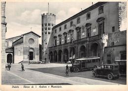 Italia  -  ORVIETO,  Chiesa Di Sant'Andrea E Municipio - Auto Cars Voitures - Terni