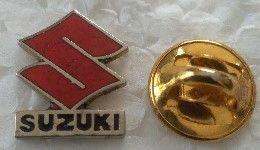 Pin's - Motos - Logo SUZUKI - - Motorfietsen
