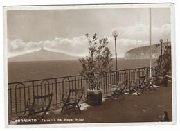 10.024 - SORRENTO NAPOLI TERRAZZA DEL ROYAL HOTEL 1940 CIRCA - Andere Steden