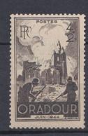 N° 742 Anniversaire De La Destruction D'Oradour-sur-Glane:  Timbre Neuf Impeccable Sans Charnière - Non Classés