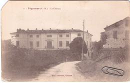 CPA Rare De Pégomas Le Château 1918 Grande Guerre - Andere Gemeenten