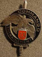 Insigne Militaire 68 , Commando Entrainement, 23 R.I , AB GS 31 - Hueste