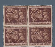 REICH  GERMANY GERMANIA 1944  Mi. 865 Machtergreifung Anniver.regime VIERBLOCK  Nuovo   MNH** - Unused Stamps