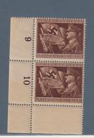 REICH  GERMANY GERMANIA 1944  Mi. 865 Machtergreifung Anniver.regime PAAR  Nuovo   MNH** - Unused Stamps