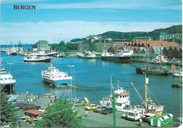CPM. NORVEGE. BERGEN. LE PORT. - Noruega