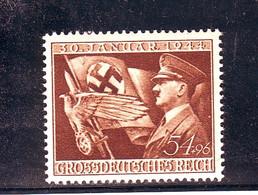 REICH  GERMANY GERMANIA 1944  Mi. 865 Machtergreifung Anniver.regime   Nuovo   MNH** - Unused Stamps