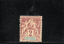 DIEGO-SUAREZ 1892 * - Unused Stamps